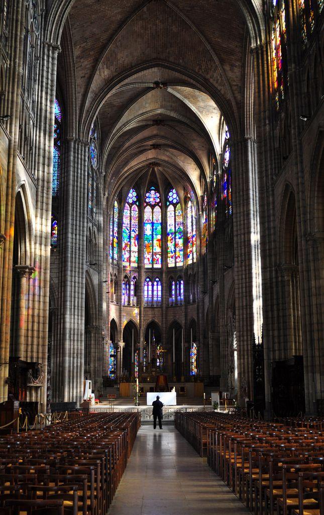 La Catedral de Sant Denis, realment he d'anar.