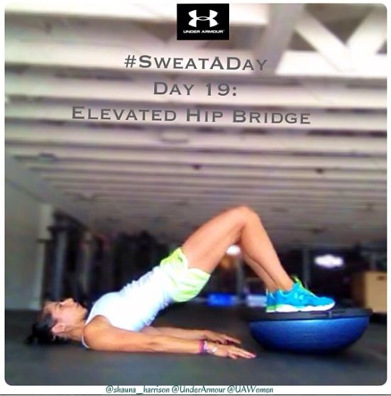 Stability Ball Glute Bridge: 1000+ Images About Bosu Ball On Pinterest