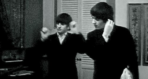beatles gif - Ringo Dancing