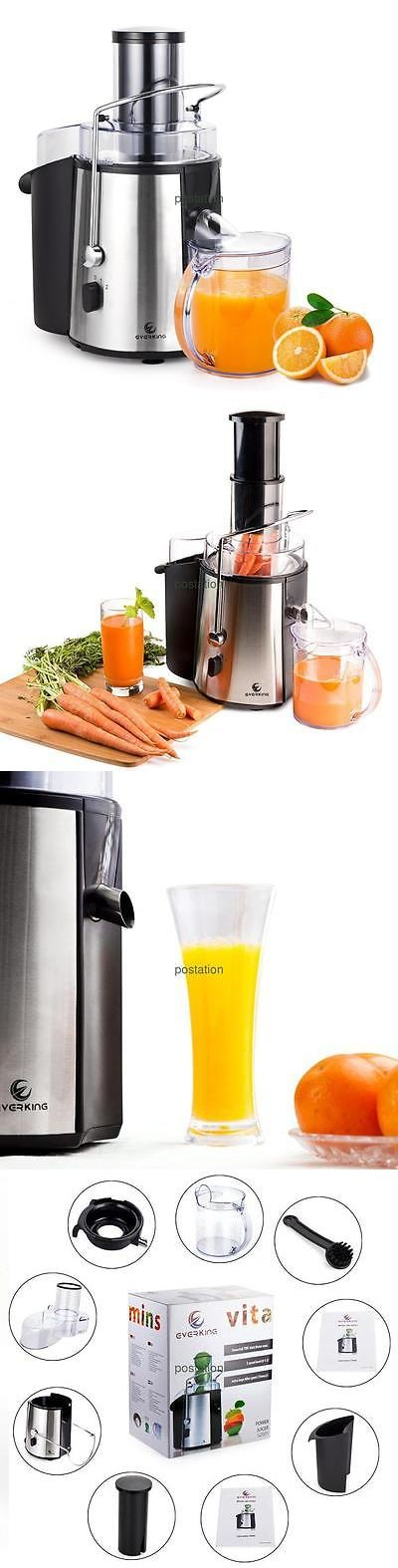 attractive Orange Small Kitchen Appliances #6: Small Kitchen Appliances: Juice Extractor Fruit Juicer Vegetable Stainless  Steel Citrus Machine High Power BUY