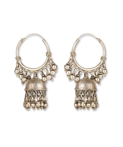 Handmade Tribal Earring Price : 3,400.00  http://silvercentrre.com/ProDetail.aspx?ProCode=SCW%206
