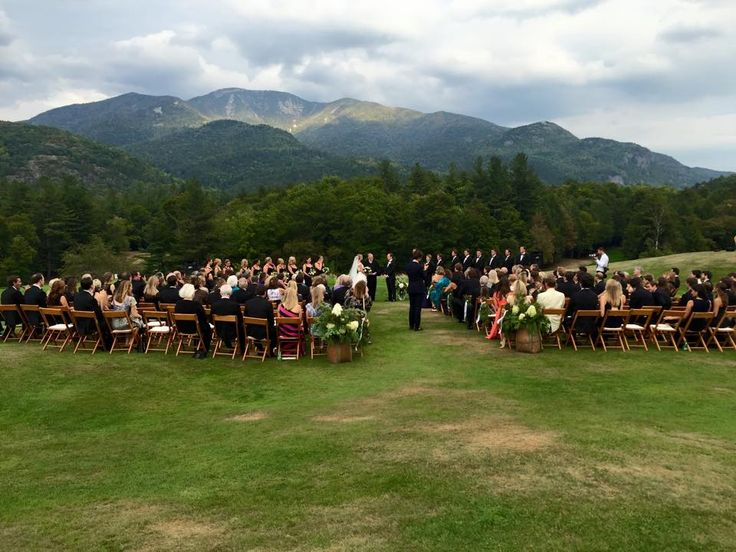 Ausable Wedding Ceremony