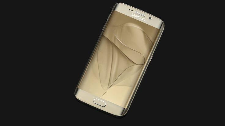 Samsung Galaxy S6 Edge Gold Platinum