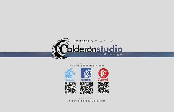 CalderonSTUDIO Portafolio