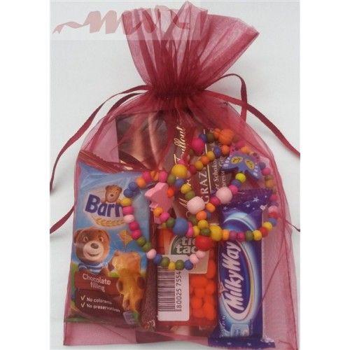 Cadou pentru fetite - dulciuri si margelute