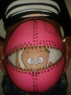 (Fotos) Pancitas pintadas fabulosas -Embarazo 34 semanas | Blog de BabyCenter