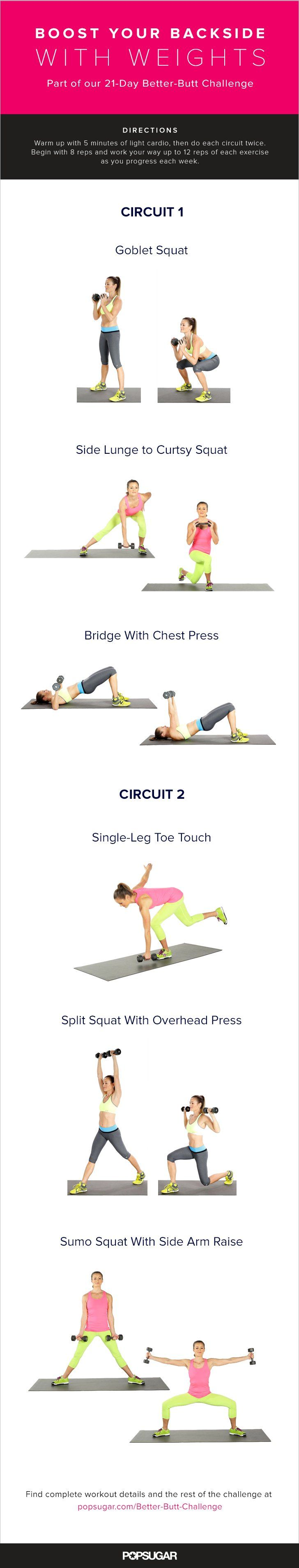 868 best Leg and Butt Workouts images on Pinterest | Fitness ...