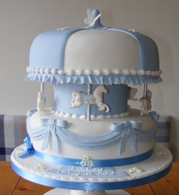 17 Best Images About Carousel Cakes On Pinterest