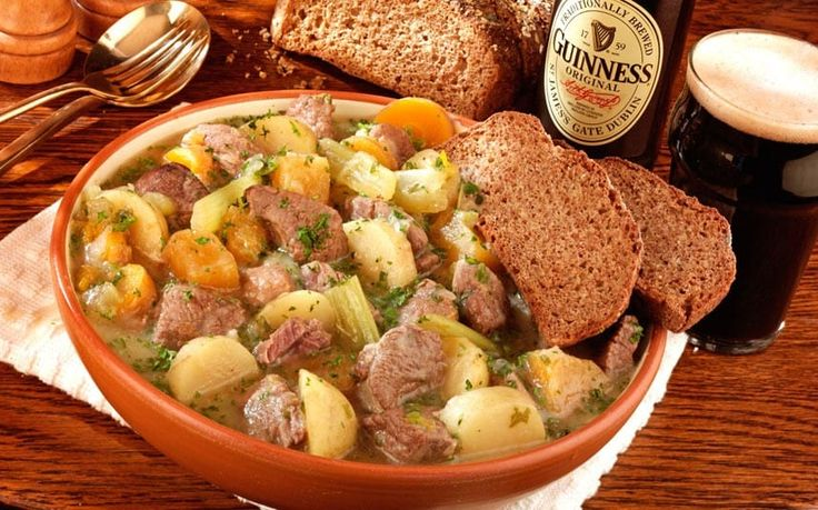 The Irish chef shares his recipe for this classic feel-good dish of lamb and   potates