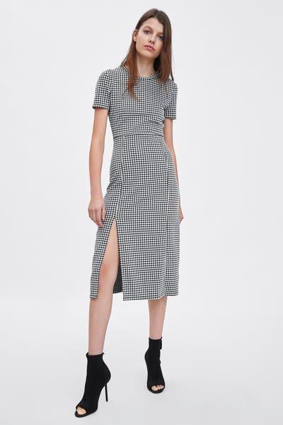 881f5e33dd5 Εμπριμε φορεμα, 2019 | zara 2018-2019 | Dresses, Check dress και ...