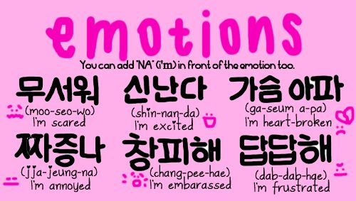 Korean Emotions