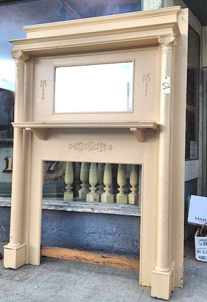 Southern Accents Architectural Antiques - add a mantle - I grew up with these in our home