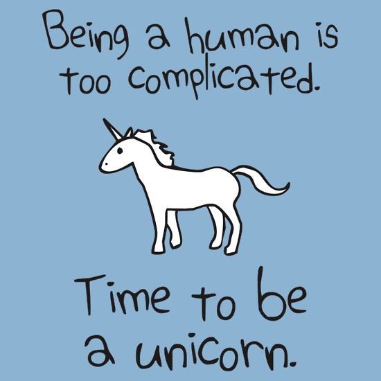 Funny Unicorn Anatomy Quotes