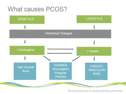 Polycystic ovary syndrome (PCOS) is of clinical and public health importance as its prevalence is very high among women of reproductive age.  SEE MORE- http://furocyst.com/what-are-the-main-causes-of-pcos/