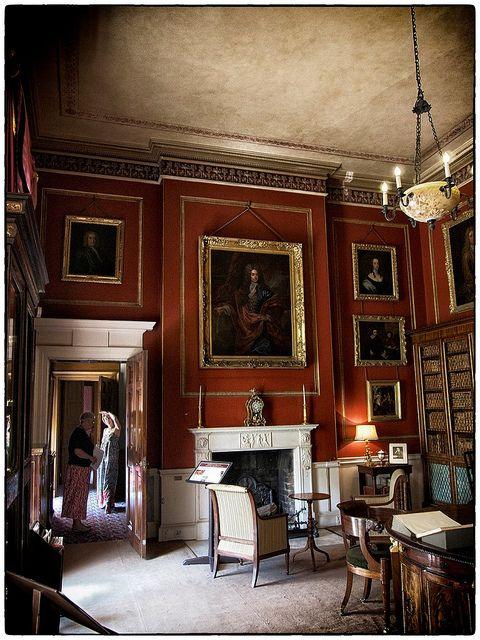 Inner Library, Attingham Park and Estate, Shropshire