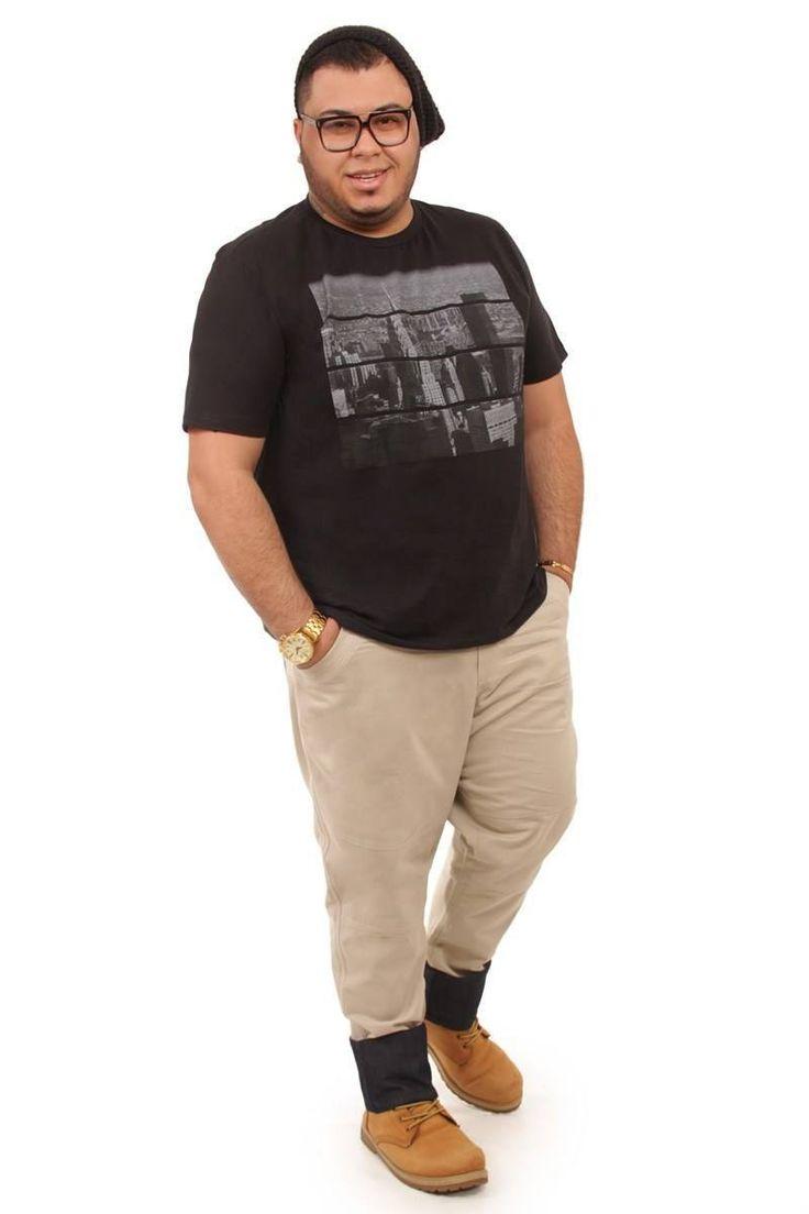 T-shirt com estampa Plus Size