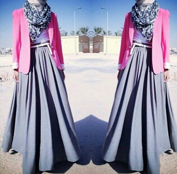 Love long skirts!