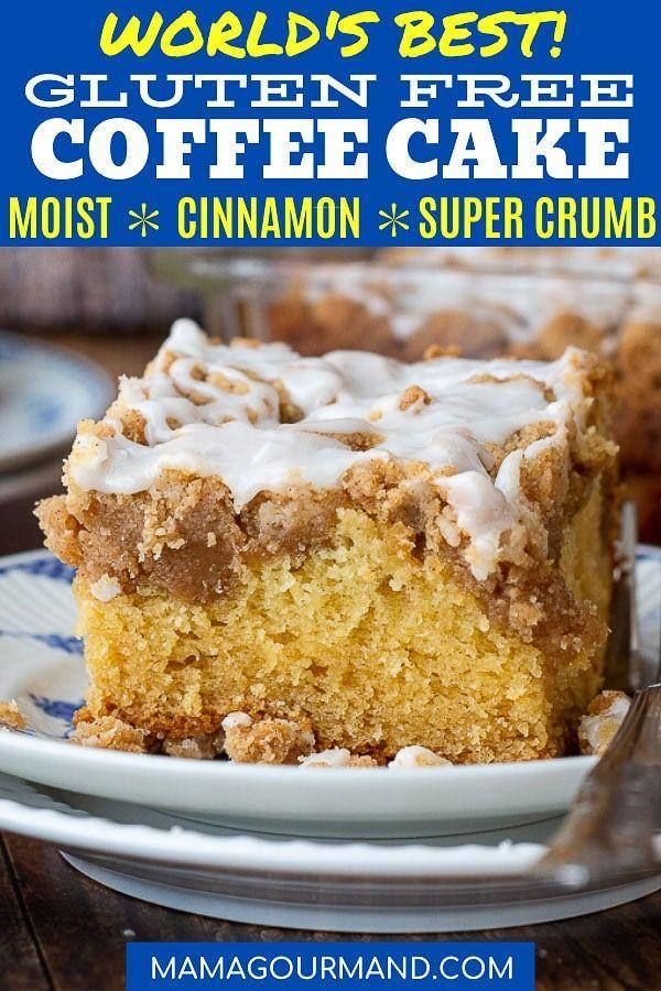 Moist Gluten Free Coffee Cake Recipe In 2020 Gluten Free Coffee Cake Gluten Free Coffee Coffee Cake Recipes