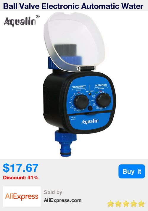 Ball Valve Electronic Automatic Water Timer Garden Home Irrigation System  With Delay Function #21049 * Pub Date: 14:57 Jul 10 2017