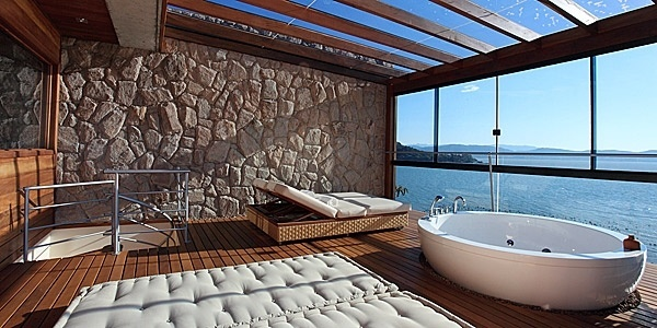 Ponta dos Ganchos hotel, Brazil