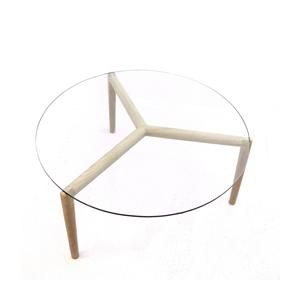 Stobie Coffee Table - Glass Top
