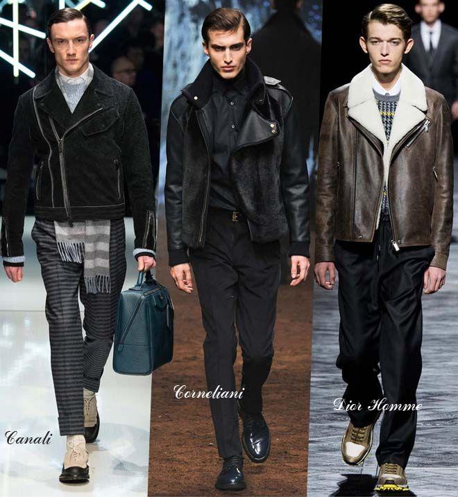 Мужские куртки косухи осень-зима 2015-2016