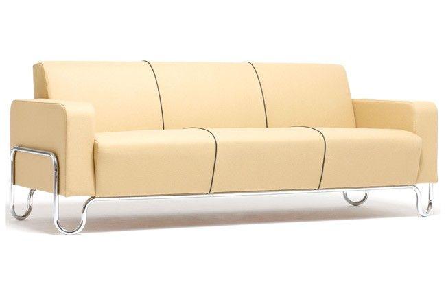 """Willem Gispen 2.5 seater """"sofa 441"""", originally 1930s"""