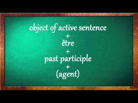 The French Passive Voice #1 - YouTube