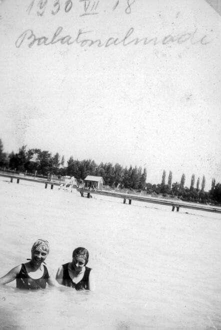 1930. Balatonalmádi.