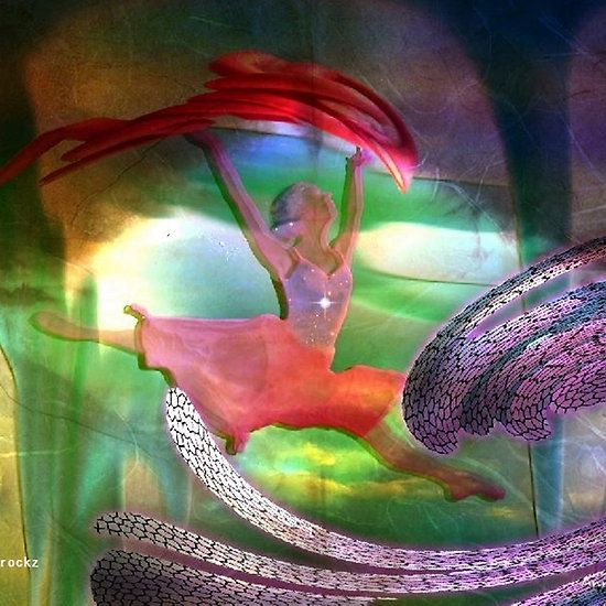 Neptune's dancing goddess