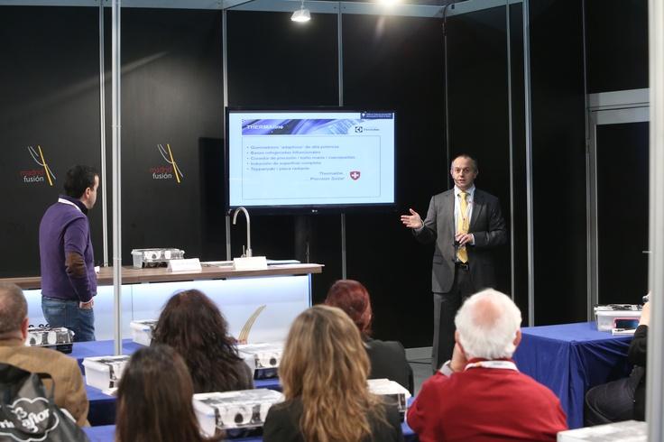 Martes 22 de Enero Últimas innovaciones tecnológicas Electrolux Madrid Fusión 2013 #MFM13