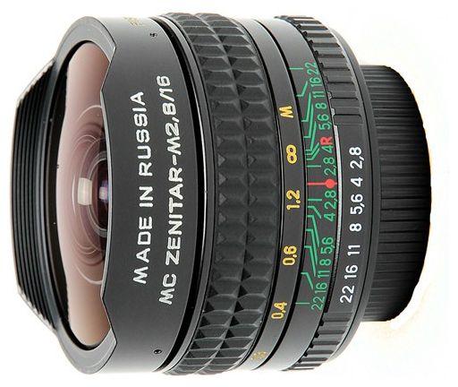 Объектив Зенитар-М 16 mm F2.8 MC (M42) ―  Fotofishka.ru - интернет магазин фототехники