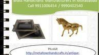 brass handicrafts manufacturers in moradabad 9911006454, 9990402540