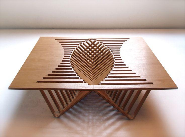 Captivating Robert Van Embricqs: Rising Table · Unique FurnitureFurniture DesignFurniture  IdeasFolding ...
