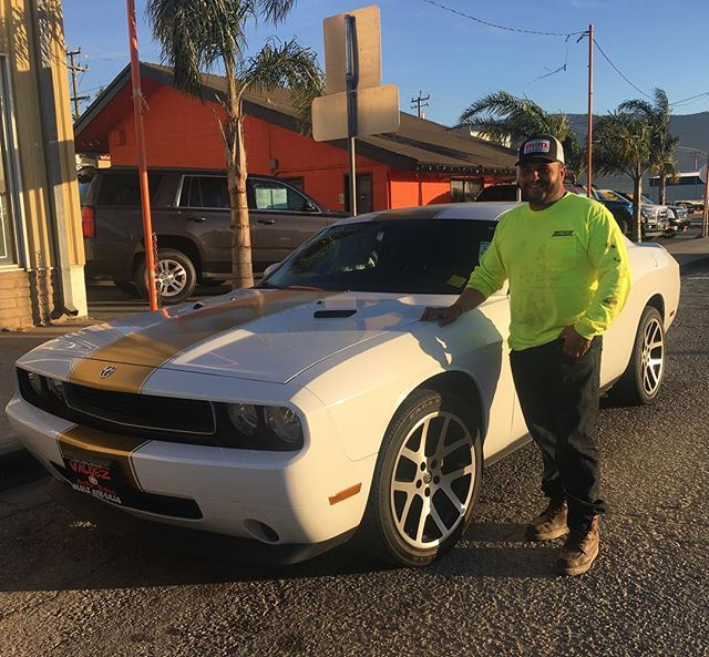 Third One Of The Day❗️☀️ Congrats To Israel Maldonado  From #Salinas Took This Immaculate Dodge Challenger! More & More Happy Customers Adding To Our List 👏🏼😊👍🏽🙏🏼 #montereylocals #salinaslocals- posted by Valdez Auto Sales 🚘 https://www.instagram.com/valdezautosales - See more of Salinas, CA at http://salinaslocals.com