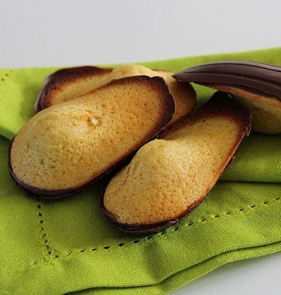 madeleines légères coque chocolat - WW