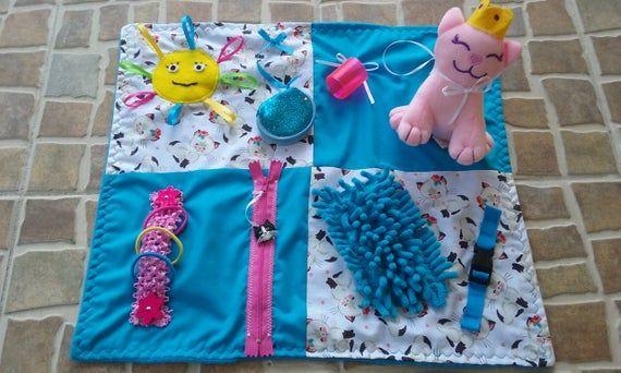 Fidget Quilts Fidget Blanket Twiddle Mat Fidget Mat Lap Pad Lap Blanket Activity Blanket Acti Sensory Blanket Fidget Quilt Fidget Blankets