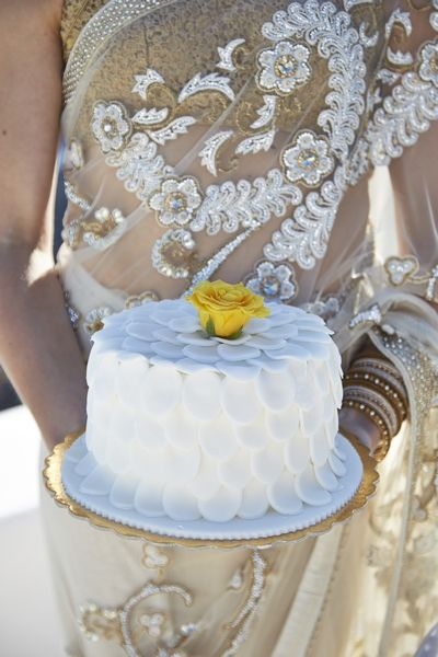 Wedding Cake, Sweet, Flowers, Yellow Rose, Indian, Details, Delicious, Art, Decorated