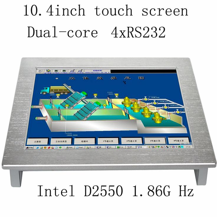 Hot Sale 10.4 Inch All In One Touch Screen iPC the Best Selling Industrial Panel PC Linux and Windows system #Affiliate