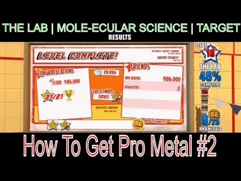 How To Get Pro Metal #2 In Joe Danger SE | Mole-Ecular Science | Target