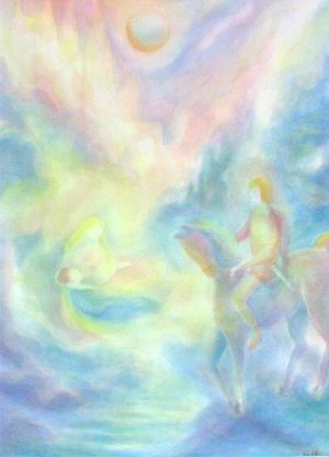 Parcifal  moving the soul with color - inviting Spirit - and paintings