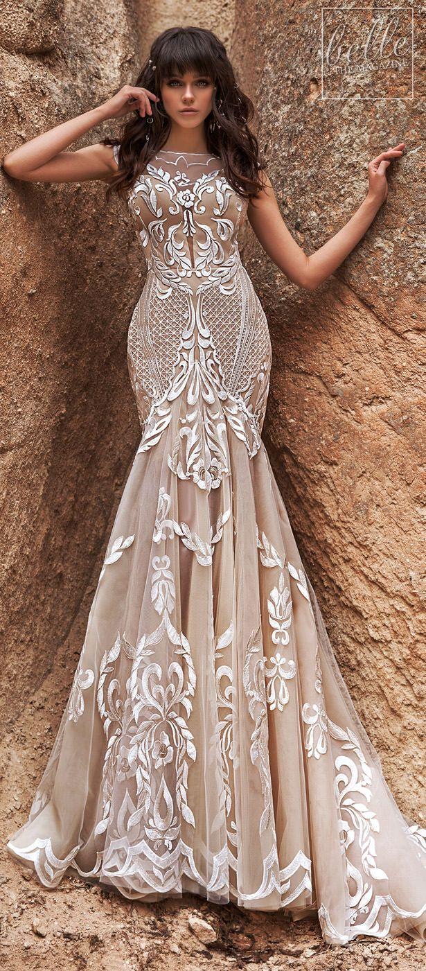 Katherine Joyce Wedding Dress Collection 2020 Belle The Magazine Beige Wedding Dress Colored Wedding Dress Wedding Dress Styles