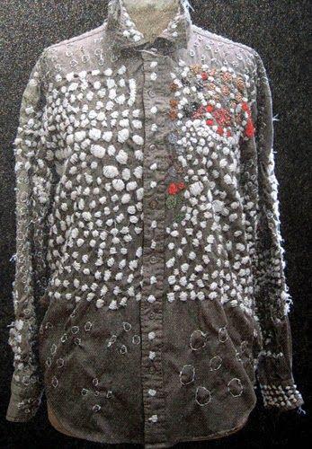 Shirt by Setusko Mori--process described in Judy's Journal