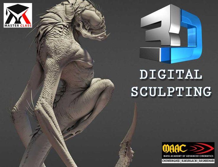 Free Master Class on 3D Digital Sculpting