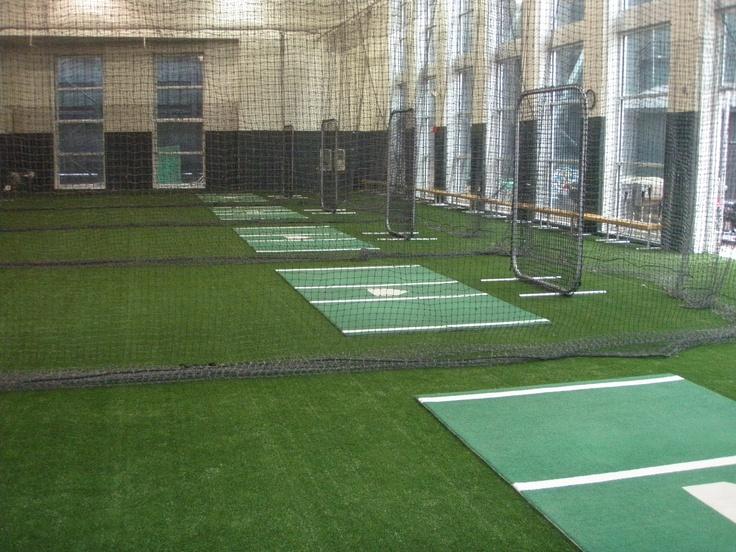 Vanderbilt Indoor Hitting Facility, Batting cages