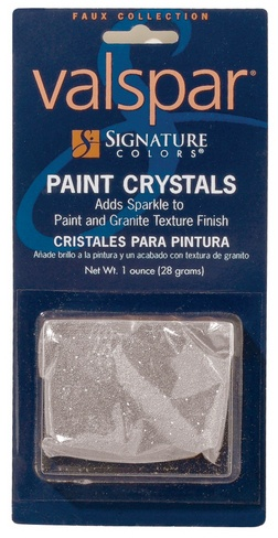 valspar paint crystals the trailer bathroom will get a nice coat of these puppies with the paint.