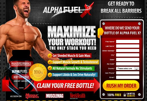 Alpha Fuel X is a highly developed and reputed supplement, which treats premature ejaculation in men.