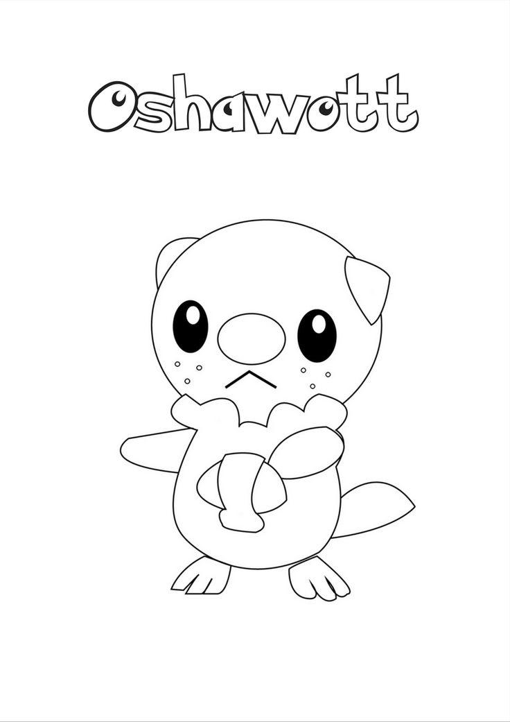 Pokemon Oshawott Coloring Pages Pokemon Coloring Pokemon Coloring Pages Coloring Pages