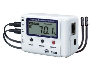 Network Connected Temperature Humidity Data Logger | TandD TR-701NW | CAS Dataloggers