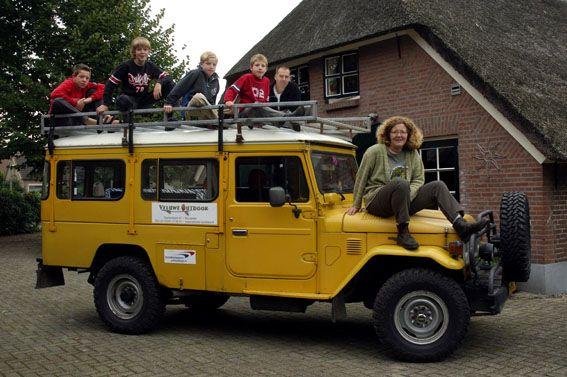 Trusty family mover: Toyota Landcruiser BJ45